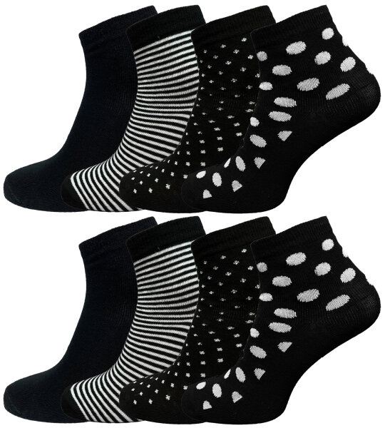 Damen Socken 8er Mixed 35 - 38