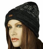 """Winter-Strick-Mütze """"Hauke"""" unisex - für Damen und Herren"""