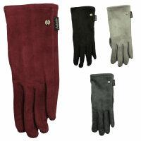 """Smartphone-Damen-Handschuhe """"Alcantara"""""""