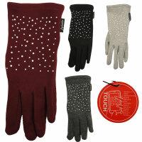 "Smartphone-Damen-Handschuhe ""Jersey"""