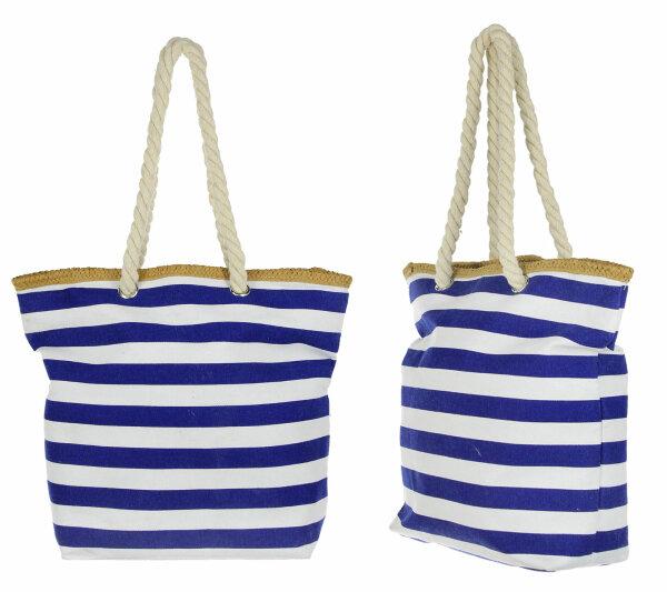 """Beach Bag """"Föhr"""" Strand- Sauna- Schwimmbadtasche in 2 Größen erhältlich maritimes Design"""