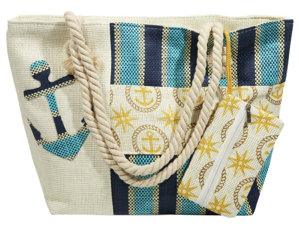 Beach Bag Ameland hellblau