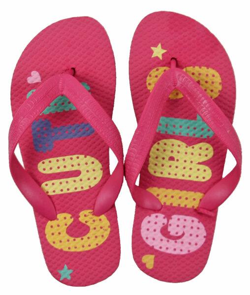 """Mädchen Beach Slipper """"Cute Girls"""" pink 30/31"""
