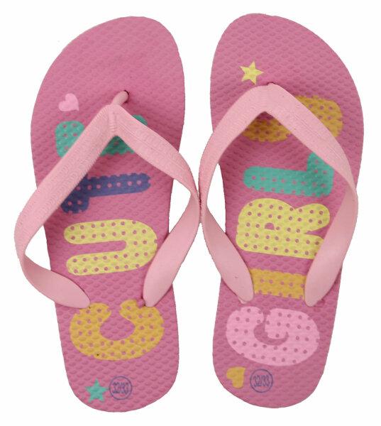 """Mädchen Beach Slipper """"Cute Girls"""" rosa 26/27"""