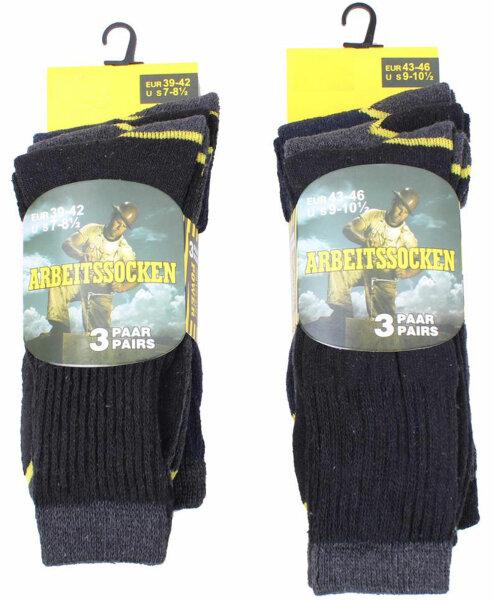 Männer Arbeits-Socken 6 er Pack