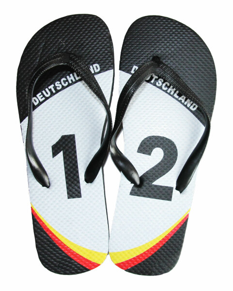 "Kinder Beach Slipper ""WM Germany"""