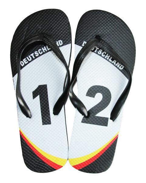 "Kinder Beach Slipper ""WM Germany"" 31/32"
