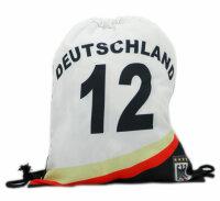 "Gym Bag ""Germany"" Turnbeutel im Trikot-Look der..."