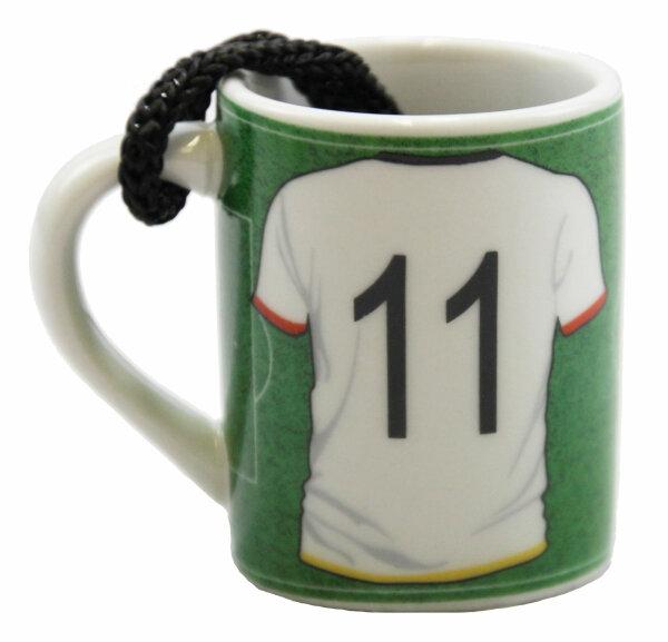 "Mini Schnapsbecher  ""WM Germany"" Spieler 11"