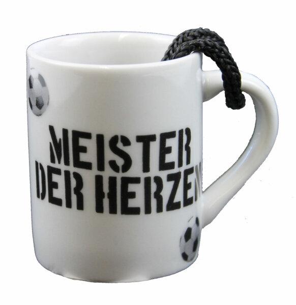 """Mini Schnapsbecher  """"WM Germany"""" Meister der Herzen"""