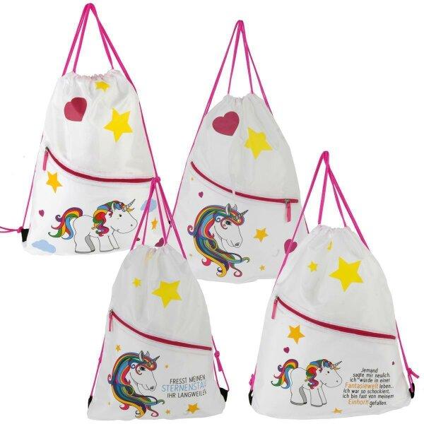 """Gym Bag """"Einhorn"""" - ein Musthave für kleine und große Einhorn-Fans"""