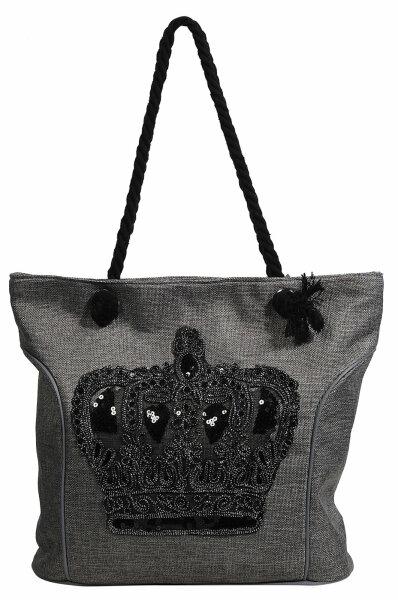 """Damentasche """"Crown"""" grau"""