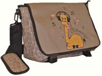 "Messenger Bag ""Giraffe"""