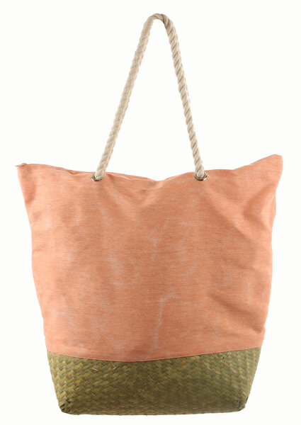 "Beach Bag ""Hawaii"" Apricot"