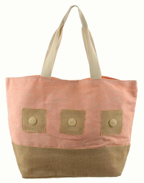 "Beach Bag ""Maui"" Apricot"