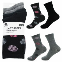 "Damen Socken 8er Pack ""Dots & Uni"""