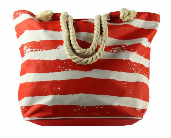 """XXL Beach Bag """"Fun"""" rot"""