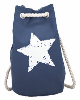 Duffel Bag Star blau