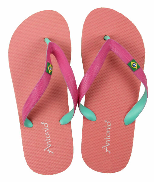 "Lady Beach Slipper ""Brazil"" 39 Apricot"