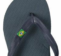 """Men Beach Slipper """"Brazil"""""""