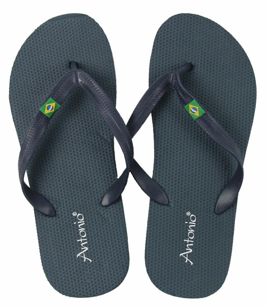 Men Beach Slipper Brazil 42 Navy