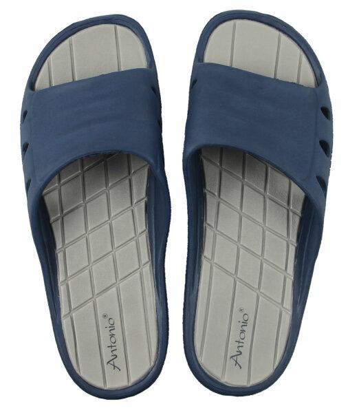 XXL Beach Slipper Men 46 Beach Slipper Blau