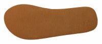 """Lady Beach Slipper """"Ibiza"""" 40/41 Stripe Strandschuh im Top-Design mit breiten Canvas Riemen für besten Tragekomfort"""