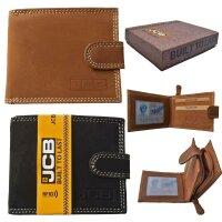 Herrengeldbörse JCB 450EH mit Geschenkbox RFID...