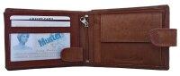 Herrengeldbörse JCB 420 MN in Geschenkbox, RFID Protected Querformat