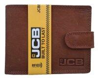 Herrengeldbörse JCB 420 MN in Geschenkbox Braun