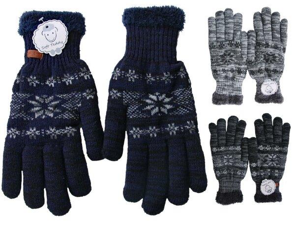 best service 86ca3 04e51 gefütterte Winter-Handschuhe, für Damen und Herren mit ...