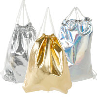 "Gym Bag ""Glamour"" Turnbeutel, Damen Stringbag..."