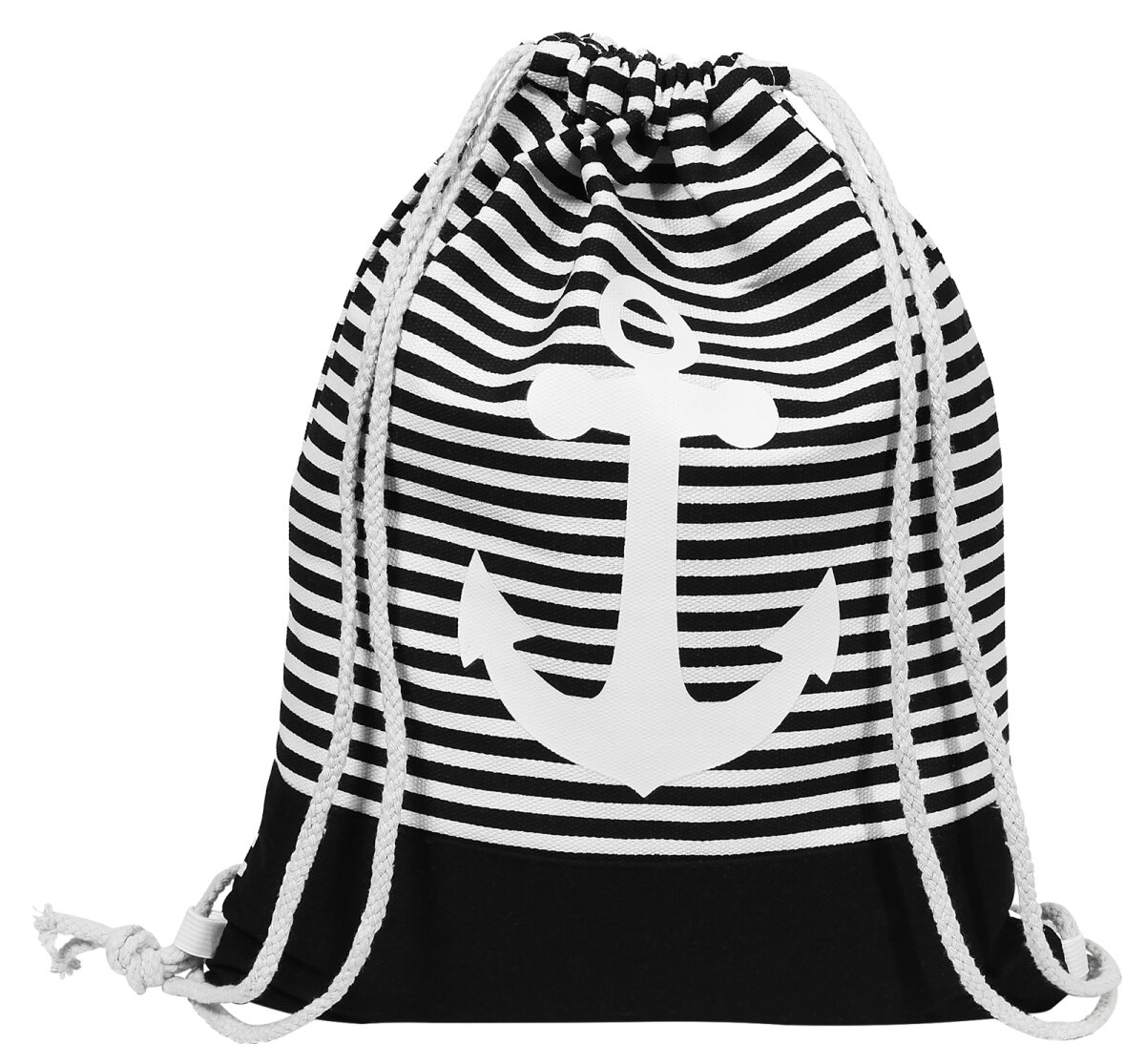 Rucksack Maritim mit Ankern und vielen Fächern viele Farben