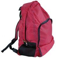 """Faltrucksack """"Shoppy"""" Pink Fliegengewicht ein Must Have, gehört in jede Handtasche, in jedes Auto für Reisen, Camping und den Alltag"""