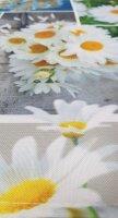 """Tisch-Mitteldecke """"Fotodruck"""" 85 x 85 cm pflegeleichte Tischdecke für Küche, Garten, Balkon und Co."""