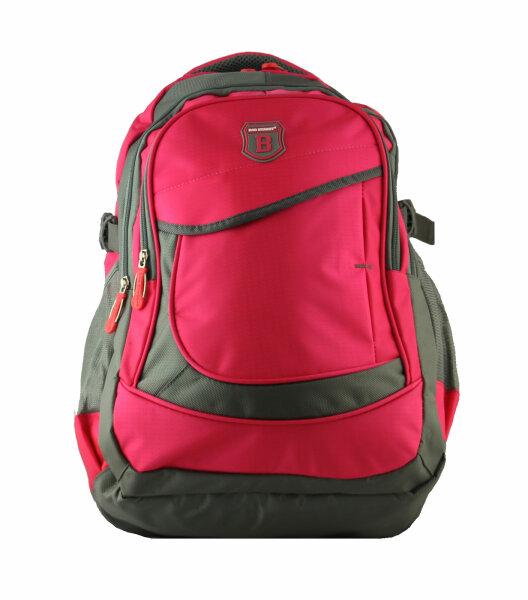 """Rucksack """"Joy"""" pink gut ausgestatteter Rucksack in 6 verschiedenen Farbvarianten"""