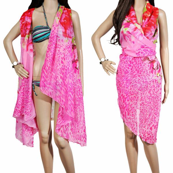 """Damen Pareo """"Beach"""" Pink"""