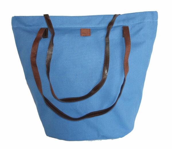 Shopper Canvas  blau