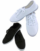 Damen Sneaker Black & White leichter eleganter...