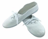 """Damen Sneaker """"Pure White"""" leichter, luftiger Sommerschuh schlicht und elegant"""