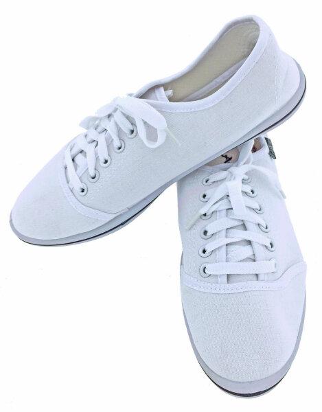 """Damen Sneaker """"Black & White"""" 41 Weiß leichter, eleganter Sommerschuh"""