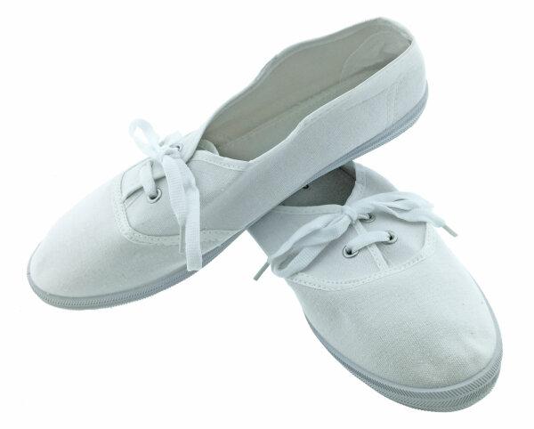 """Damen Sneaker """"Pure White"""" 37"""
