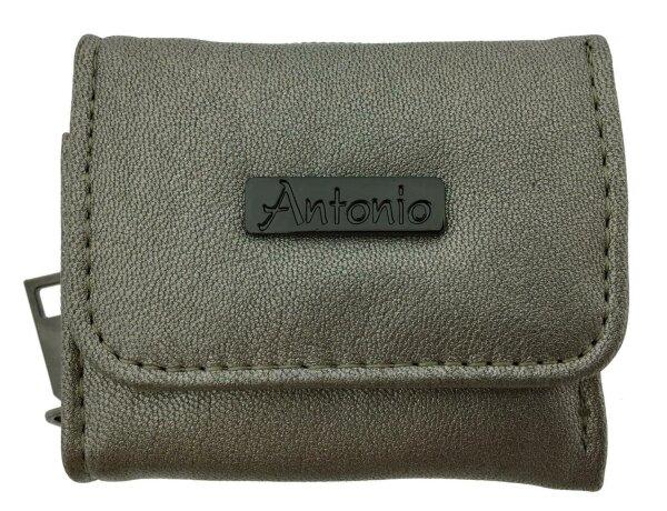 """Damen- Kindergeldbörse """"Party Pocket"""" Bronze kleines Mini Portemonnaie für Frauen und Mädchen in Metallic-Optik Party Portmonnee"""