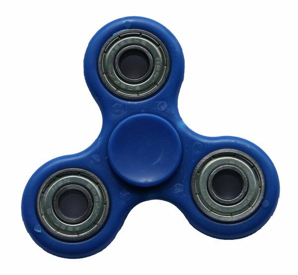 Fidget Spinner  uni blau