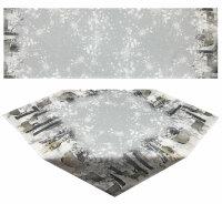 Tisch-Mitteldecke 85 x 85 cm/ -Läufer 40 x 160 cm...