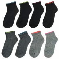 """8 er Pack Damen Socken """"Sporty"""" Gr. 36-42"""