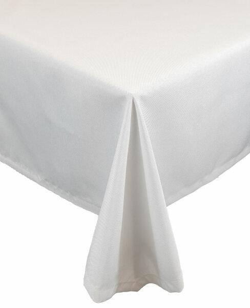 """Tischdecken-Serie """"Panama Uni"""" eckig 110 x 160 Weiß"""