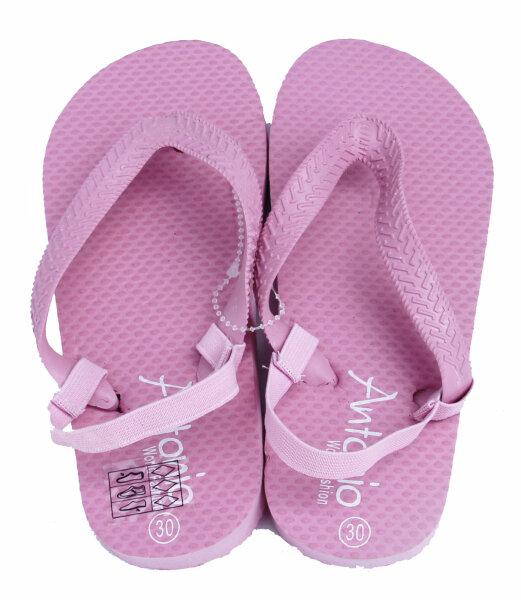 "Beach Slipper ""Kinder"" rosé 30"