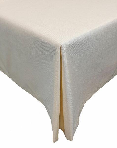 """Tischdecken-Serie """"Panama Uni"""" eckig 160 x 360 Champagner"""