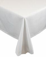 """Tischdecken-Serie """"Panama Uni"""" rund 220 Weiß"""